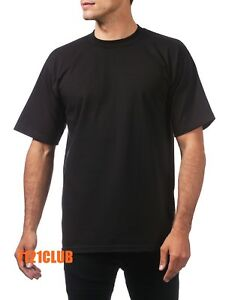 4113d14ed4 LOT 12 PACK PRO CLUB T SHIRTS PROCLUB MEN S HEAVYWEIGHT SHORT SLEEVE ...
