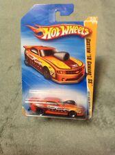 "R6450 2010 Hot Wheels #38 New Models 38/44 - Custom ""10 Camaro SS - Orange"