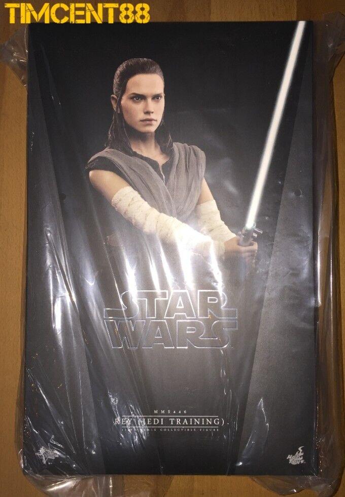 Listo Hot Toys MMS446 Guerra De Las Galaxias La última Jedi 1 6 Rey Jedi Entrenamiento Daisy Ridley