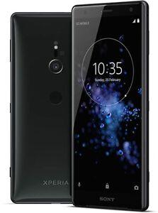 Sony Xperia XZ2 64GB Liquid Black Unlocked 5.7 inches display H8276 Smartphone