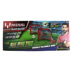 f9bd18e10 Messi Training System Double Foldable Goal NEW 8056379048558 | eBay