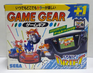 CONSOLE-SEGA-GAME-GEAR-SONIC-DRIFT-SPECIAL-EDITION-NTSC-JAPAN-BOXED-RARE