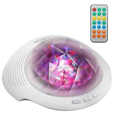 SOAIY® Remote Bluetooth Relaxation Projection Color Changing LED Kids Light Lamp
