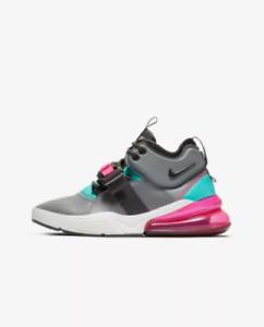 04a973b9a1e New Nike Youth Air Force 270 GS Shoes (AJ8208-005) Cool Grey Hyper ...