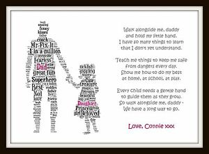 walk alongside me dad daddy son daughter fathers day poem
