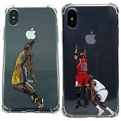 buy popular 6c0dc 21963 Lebron James Michael Jordan iPhone X XS XR Max 6 6s 7 8 Plus Case - US  Seller | eBay