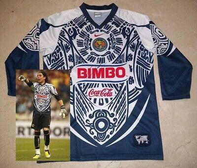 size 40 f0110 d231c GUILLERMO OCHOA signed autographed America Caballero Aguila Jersey PROOF  Mexico | eBay