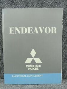 oem 2010 mitsubishi endeavor electrical wiring diagrams supplement ...  ebay