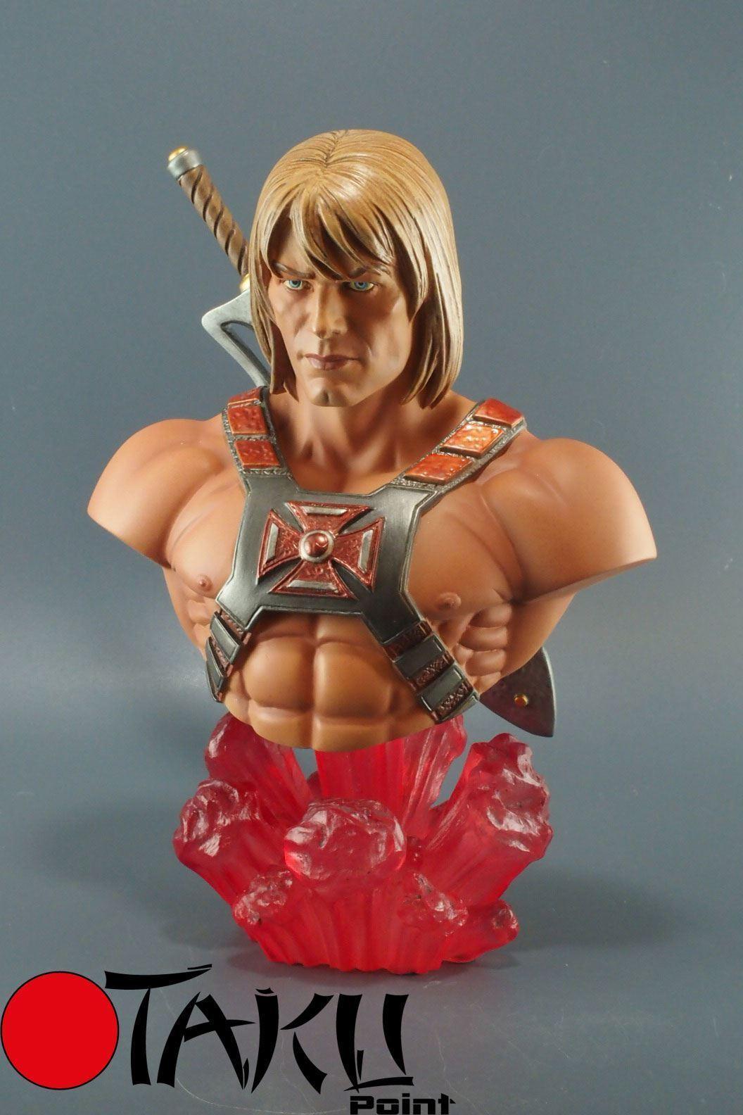 MOTU Tweeterhead resin bust - Masters of the Universe - He-Man
