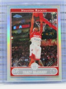 2006-07-Topps-Chrome-Tracy-McGrady-Refractor-Rockets-Q74