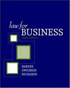 Law-for-Business-by-A-James-Barnes-Terry-M-Dworkin-Eric-Richards