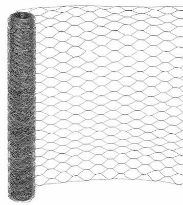 Sechseckgeflecht 25m 150cm 50mm Kaninchendraht Maschendraht-Zaun 6-Eck Geflecht