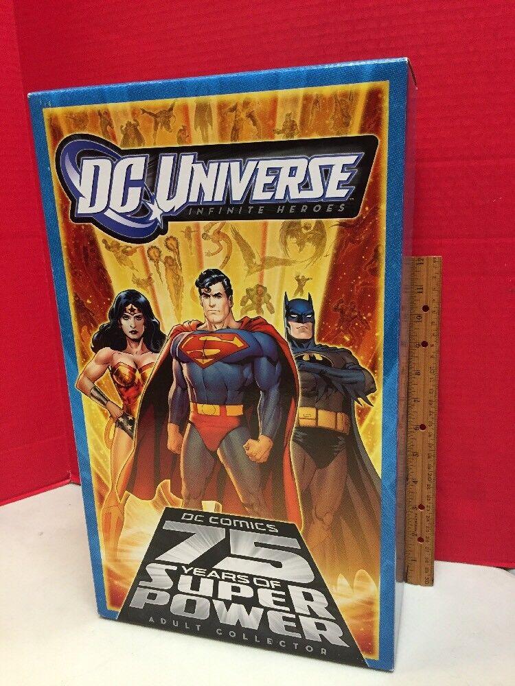 DC Universe Infinite Heroes 75 años de poder súper Juego De 6 figuras de coleccionista adulto
