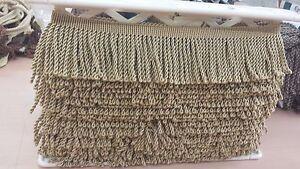 "9 1/2 + 3 1/2 yrds of CONSO 3"" bullion fringe trim drapery upholstery craft"