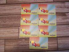 Belgique - Belgium - 7 telecartes / phonecards  Alcatel Bell VUB chip -- puce