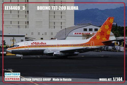 Eastern Express 1//144 Boeing 737-200 Aloha Airlines Civil Airliner