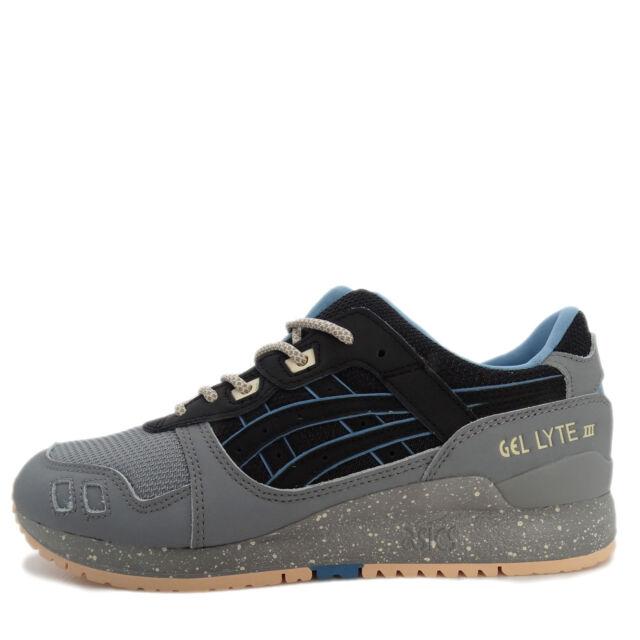 premium selection 94f34 aabd3 Asics Tiger GEL-Lyte III [H7L0L-9090] Men Casual Shoes Grey/Black