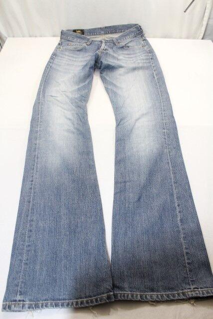 H5048 Lee Denver Jeans W31 Blau Unifarben Gut