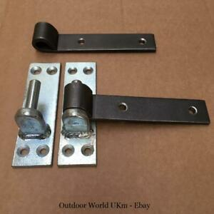 12mm Gate Wall Post Hinges Hangers Wrought Iron Metal