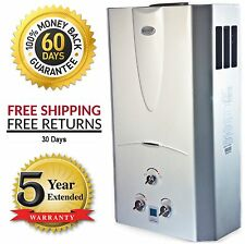 Tankless Hot Water Heater 3.1 GPM Natural Gas with Digital Temperature - Marey