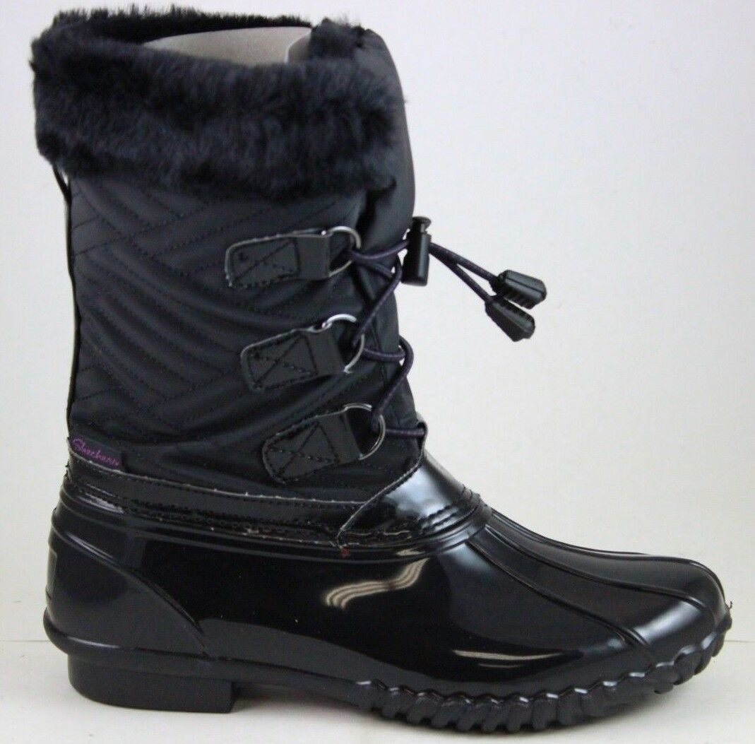 Skechers Mujer Hampshire-Manchester 48893 Negro 3M Thinsulate Impermeable