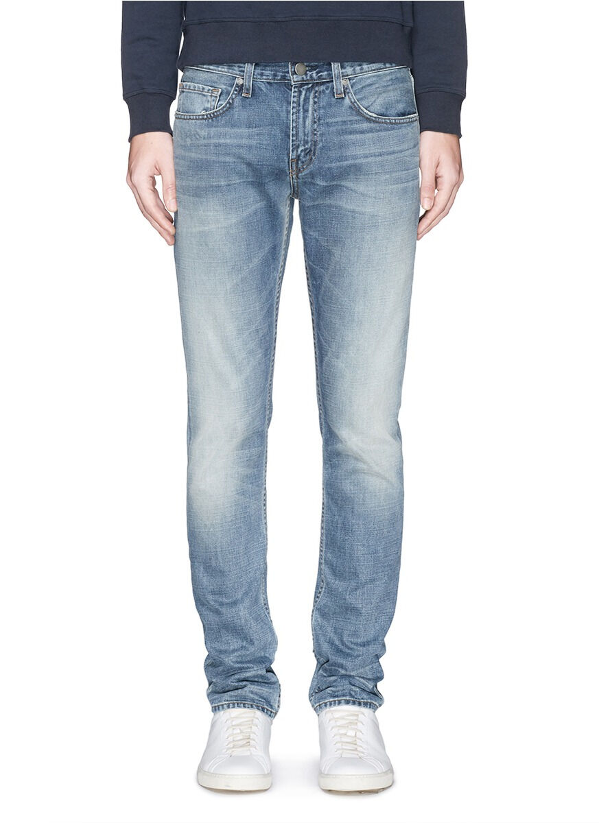 J BRAND MENS TYLER PERFECT SLIM FIT JEANS IN BAKER SIZE 38