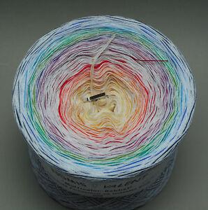 GP-1000m-16-50-4-faedig-Colori-Bobbel-Normal-O-oder-Tuchwicklung-Farbverlauf