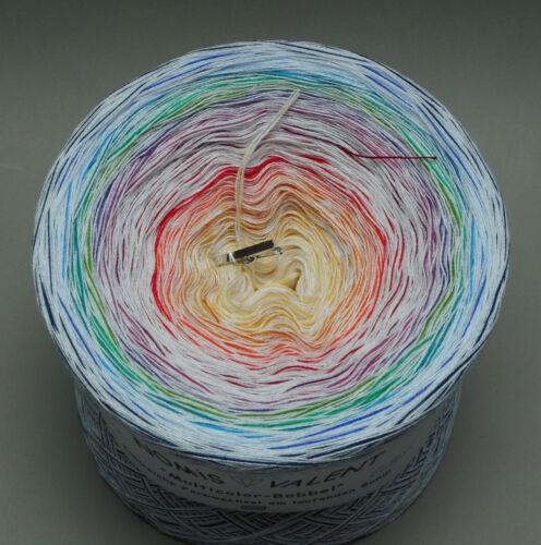 Normal-O oder Tuchwicklung 4-fädig GP 1000m=16,50€ Farbverlauf Colori-Bobbel