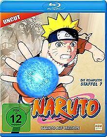 Naruto - Naruto auf Mission (Staffel 7: Folge 158-18... | DVD | Zustand sehr gut