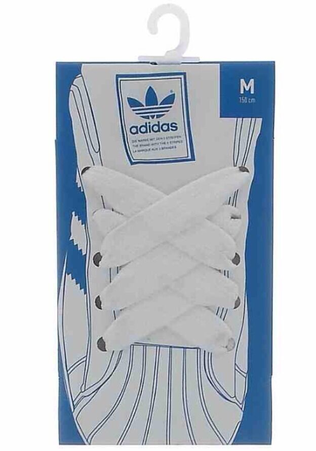 Adidas Originals Fat Shoe Laces Superstar  Shell Toe Trainers Comfortable Seasonal price cuts, discount benefits