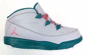 04bae6f3896 Nike Infant   Toddler s Air Jordan DELUXE GT Shoes Grey Emerald ...