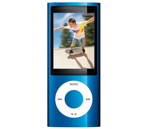 apple ipod nano 5th generation blue 16 gb ebay. Black Bedroom Furniture Sets. Home Design Ideas