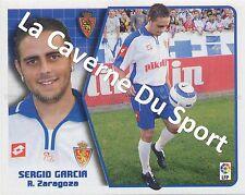 N°404 SERGIO GARCIA # ESPANA REAL ZARAGOZA STICKER PANINI ESTE LIGA 2006