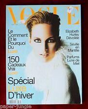 Vogue Paris ~ #762 November 1995 ~ Elizabeth Hurley Stella Tennant Trish Goff
