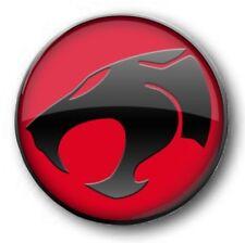 "Thundercats Logo New 25mm 1"" Button Badge - Kids Retro TV Nostalgia 80's Novelty"