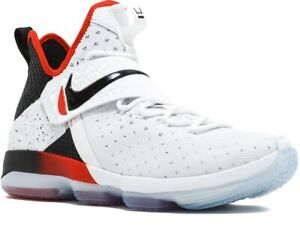 Details about Nike Lebron James XIV 14 Men's Size 9.5 Flip The Switch White  Red Black