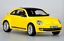 KYOSHO Volley wagon of the beetle Coupe DIECAST model yellow color L