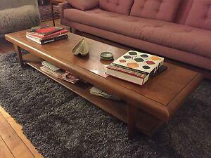 mid century modern surfboard coffee table retro vintage lane