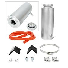 Silver 800ml Universal Radiator Coolant Aluminum Tank Overflow Reservoir
