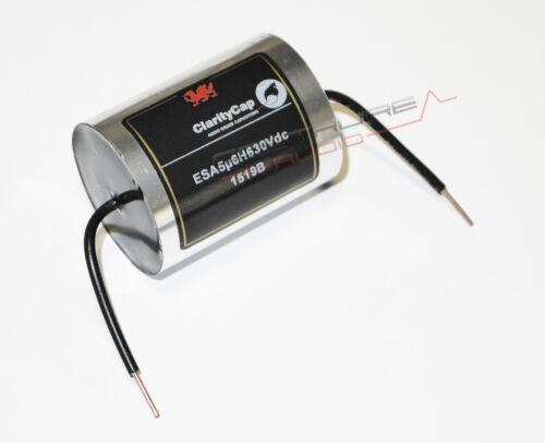 ClarityCap Serie ESA 630 Vdc 1.00 uF 3/% filtro audio crossover HIGH END