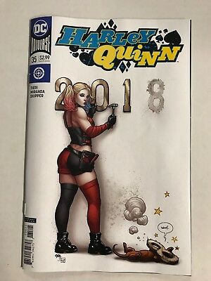 HARLEY QUINN #39 FRANK CHO VARIANT DC COMICS PENGUIN