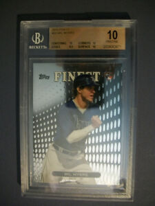 WIL-MYERS-2013-Topps-Finest-33-BGS-PRISTINE-10-RC-Royals