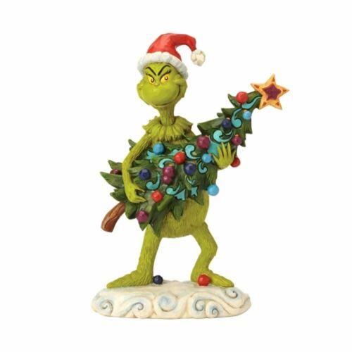 Dr Seuss die Grinch Stehlen Weihnachtsbaum Sammler Figur Verpackt Ornament