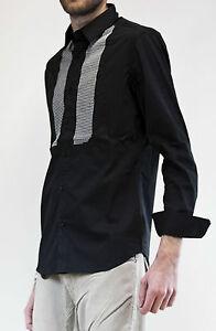 IMPERIAL Camicia manica lunga applicazioni strass slim sfiancata M.ItalyCW57KDNS