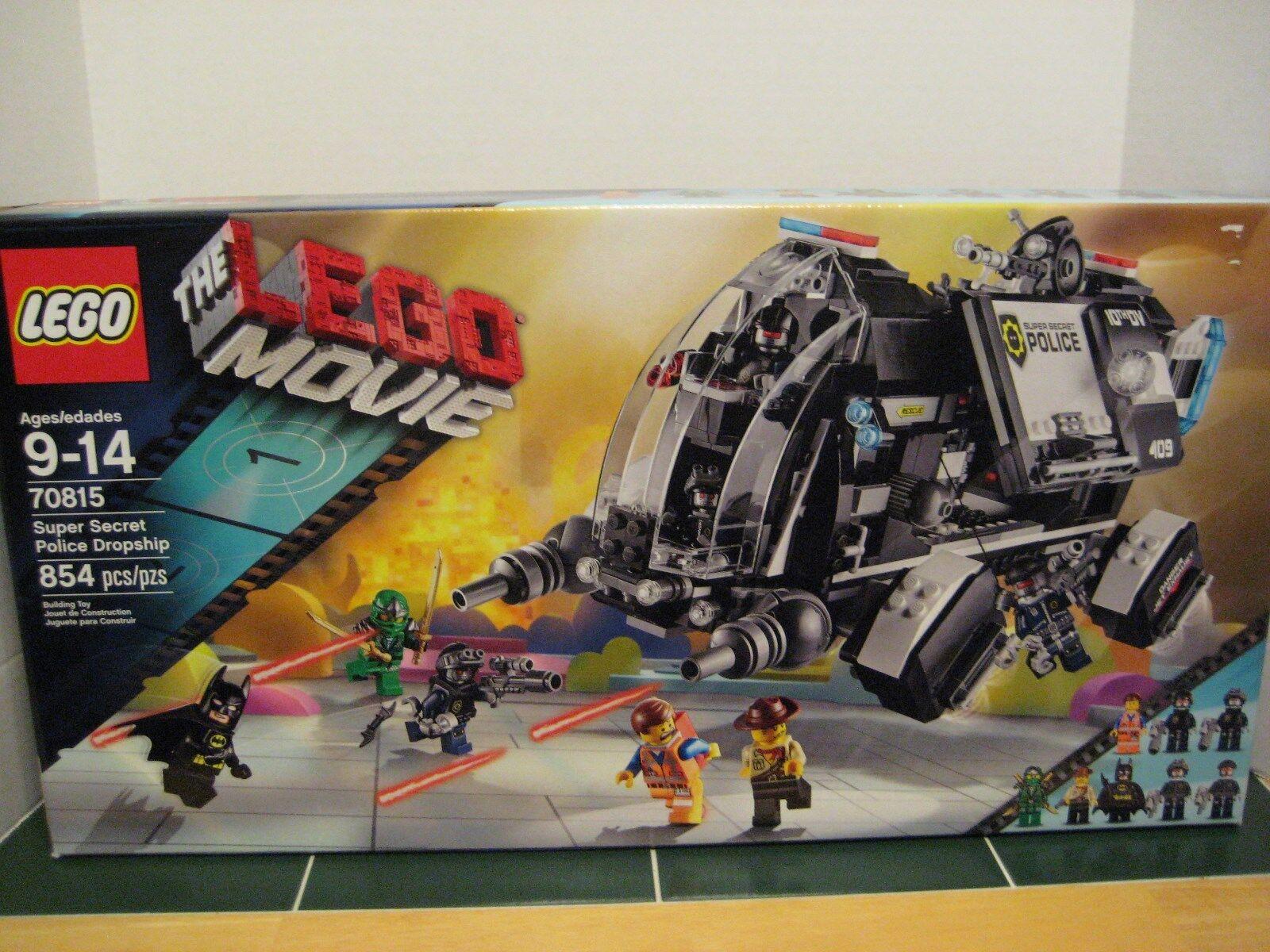 Lego  70815 The Lego Movie Super Secret Police Dropship Set