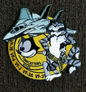 U.S.N Navy FIGHTER JET NAVY TOMCAT VF FELIX Military collectors Patch