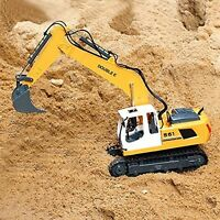 Tractor Fork Excavator Toy Metal Shovel Construction 1:16 Scale Remote Control