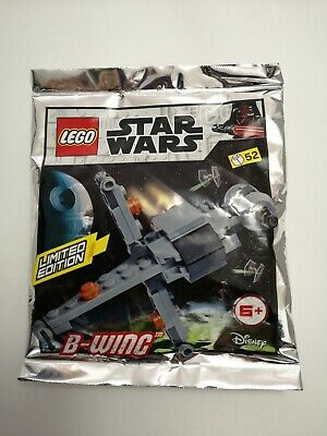 LEGO Star Wars B wing foil pack  New model limited pack