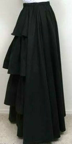 Victorian Costumes: Dresses, Saloon Girls, Southern Belle, Witch    Frontier Classics Victorian Twill Bustle Skirt in Red Black or Navy Dickens $79.95 AT vintagedancer.com