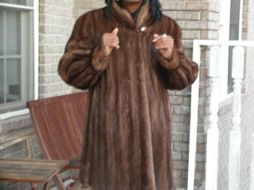 Brown Mink Bolero S m 10 Jacket Elegant Designer Coat Dark Custom Fur qxtFf